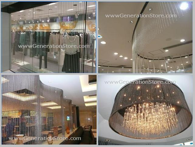 Our Selection Of Shapes And Colors Available For Our Metal Hanging Metal  Ball Screen Below: